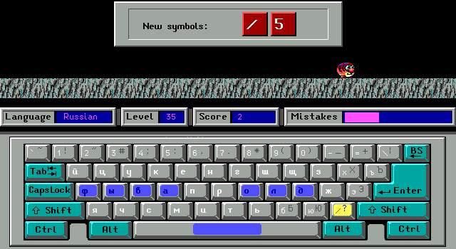 Скачать клавиатурный тренажер слепой